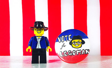 Buttons don't lie. Career politicians do. #VoteForLegoman