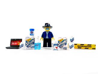 Legoman in Quarantine
