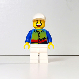 Happy First Day of April from the one and only Legoman!