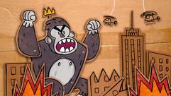 Cardboard King Kong