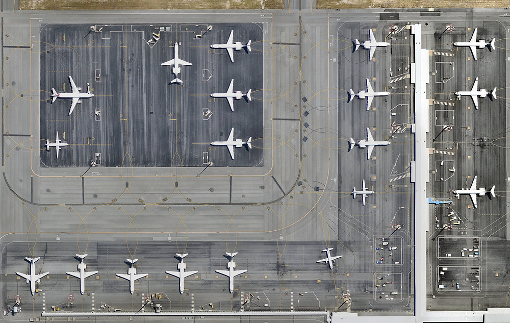 An airport with dormant/inactive planes- Government's response