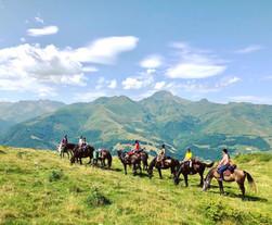 """Retour du séjour:""""cheval et montagne: vers son être intérieur"""" en juillet 2020 dans les Baronnies"""
