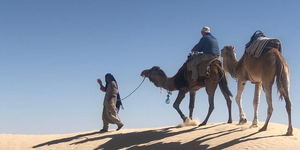 vie nomade dans le désert tunisien