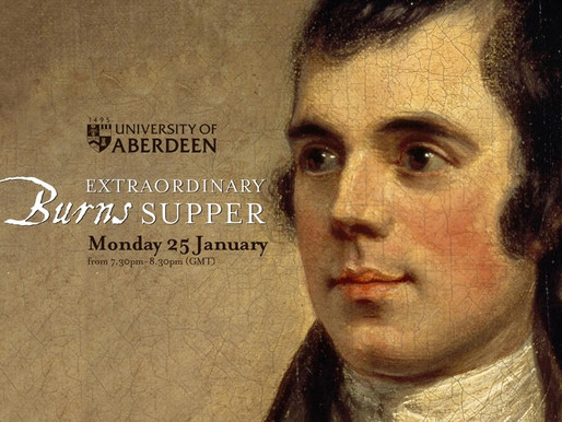 Extraordinary in every way: Aberdeen University's Extraordinary Burns Supper