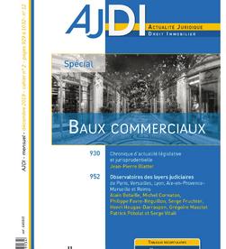 Loyers judiciaires Aix-Marseille 2019
