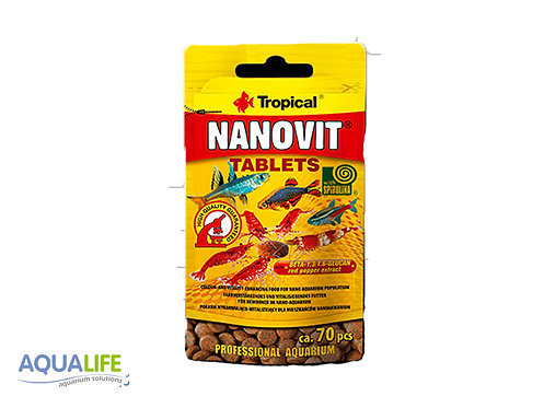 Tropical nanovit tablets x 70 unidades