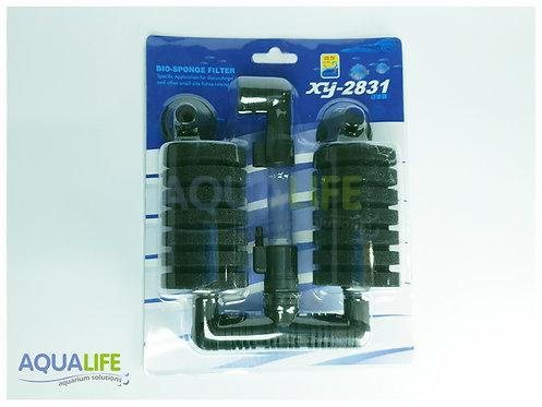 Filtro de esponja doble colgante XY-2831