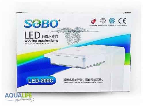 Sobo iluminador led 200c 4.3w touch