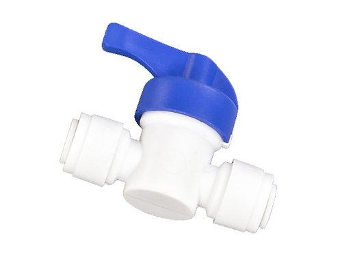 Valvula conexión rápida osmosis