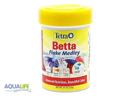 Tetra betta flake medley x 23grs