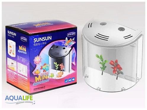 Pecera SUNSUN ATS-320 C/luz y filtro