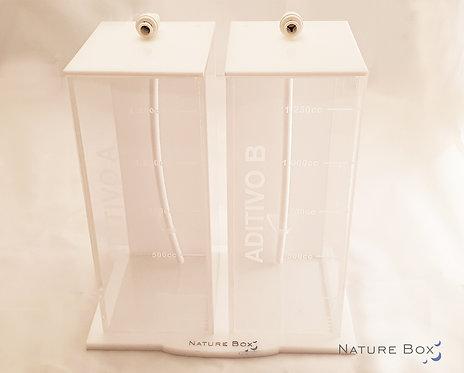 Rack 2 contenedores para aditivos