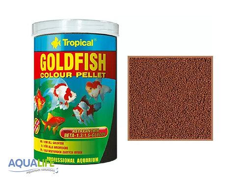 Tropical goldfish color pellets grano S x 45grs