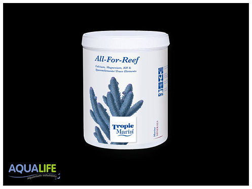 ALL-FOR-REEF x 1600grs -  Aporte completo de minerales para acuarios ma