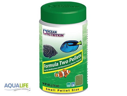 O.N. Formula Two pellets Small size x 400grs