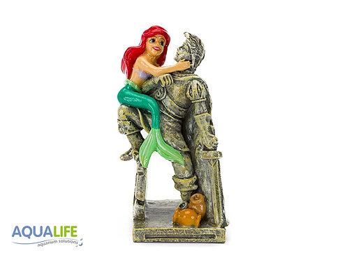 Penn-plax Ariel con estatua