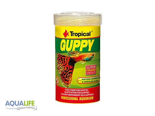 Tropical guppy x 20grs
