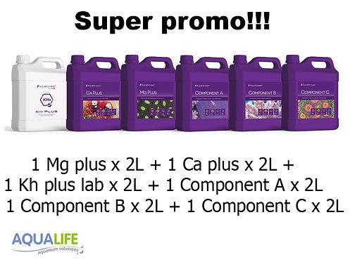 Promo Aquaforest aditivos x 2L