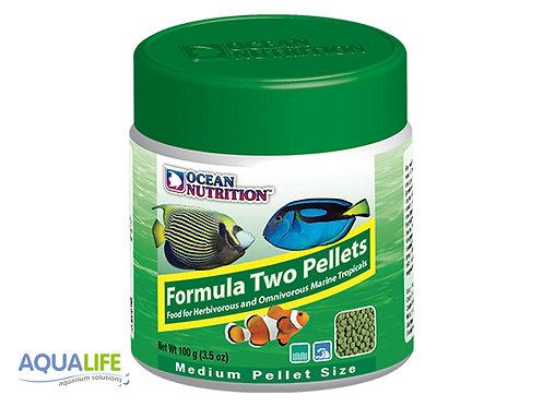 O.N. Formula Two pellets Medium size x 100grs
