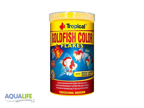 Tropical goldfish color flakes x 200grs