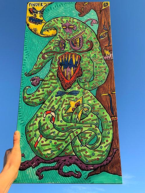 Tree of Terror Canvas