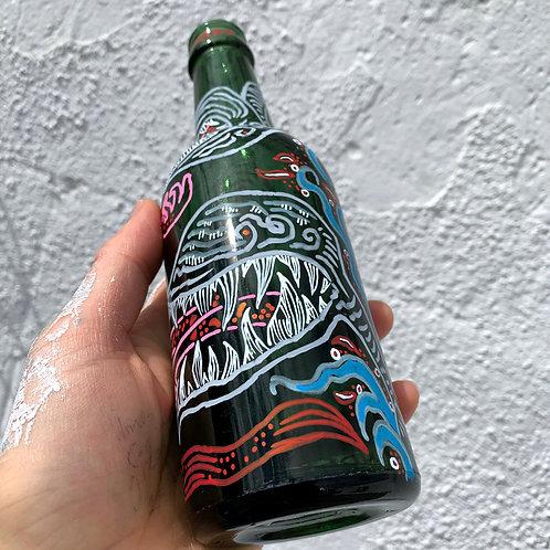 Snake Pit Victorian Beer Bottle