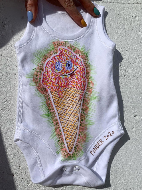 Ice Cream Baby Grow