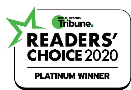 Guelph Mercury Readers Choice 2020 Best Osteopathic Manual Practitioner Stephanie Froll Platinum Winner