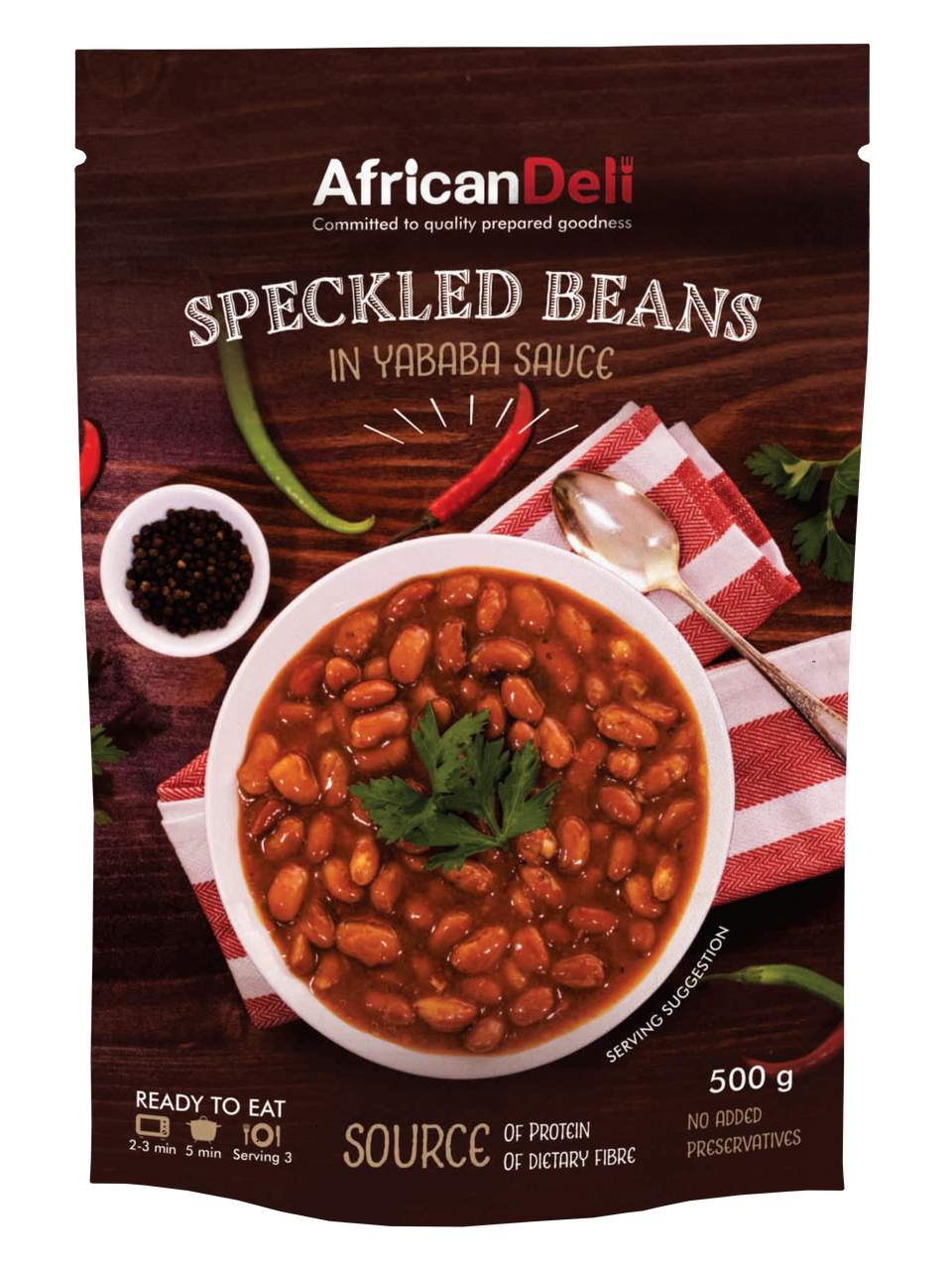 Speckled Beans in Yababa Sauce 500g
