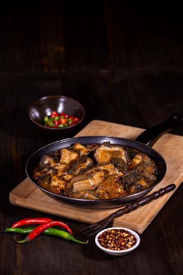 Beef Tripe in Chilli Sauce