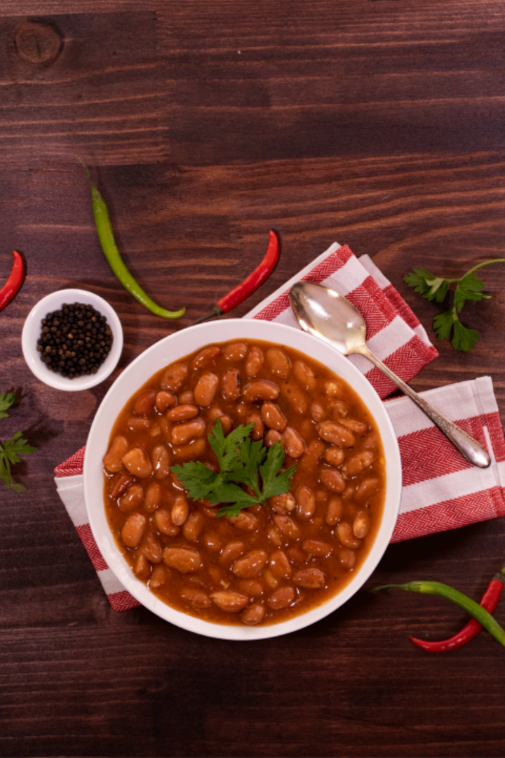 Speckled Beansin Yababa Sauce