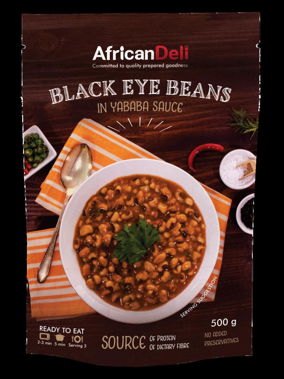 Black Eye Beans in Yababa Sauce 500g