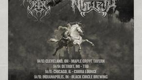 Rippikoulu, Chthe'ilist & Nucleus North American Tour Announced