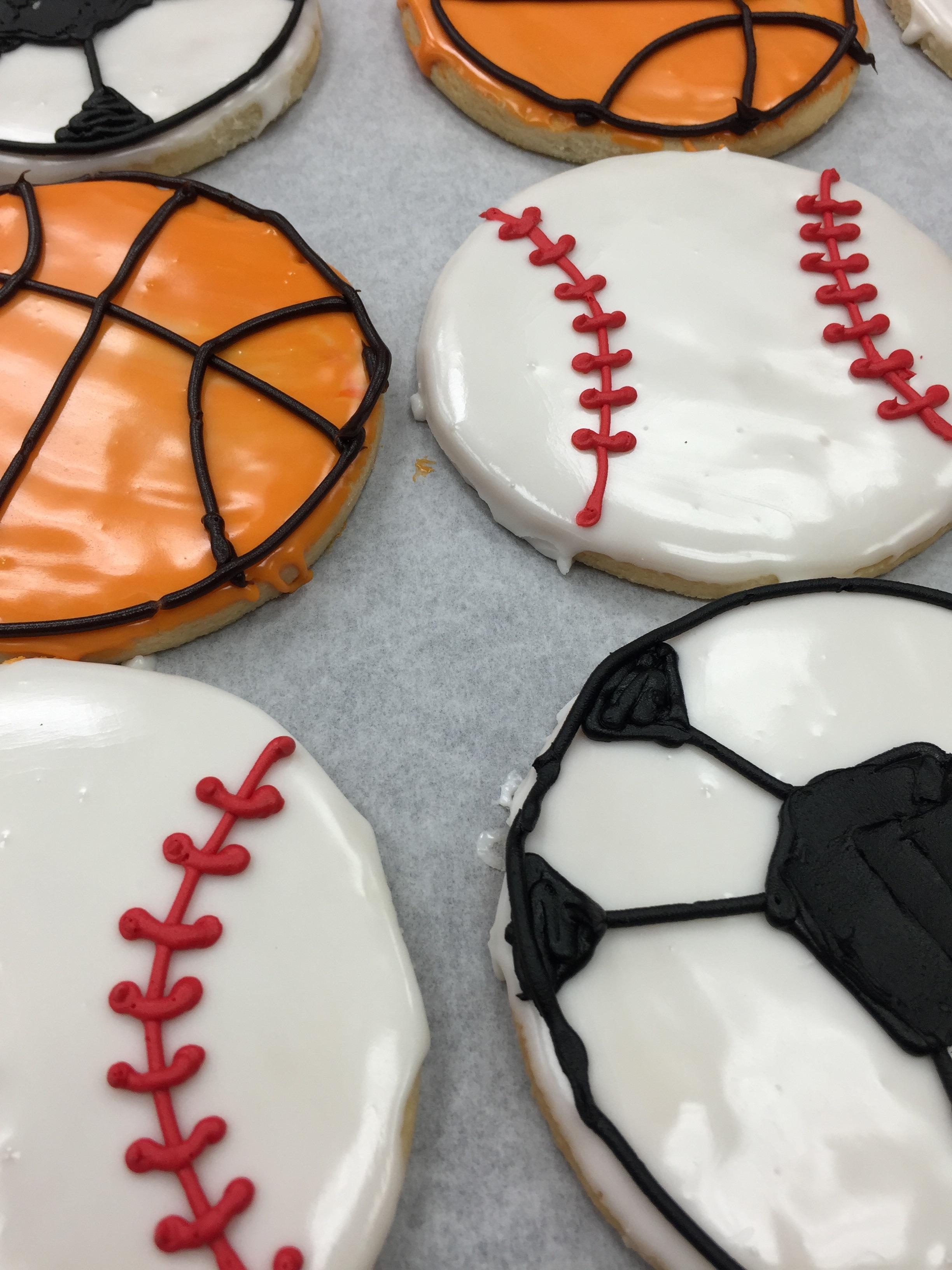 Sports Balls Cookies