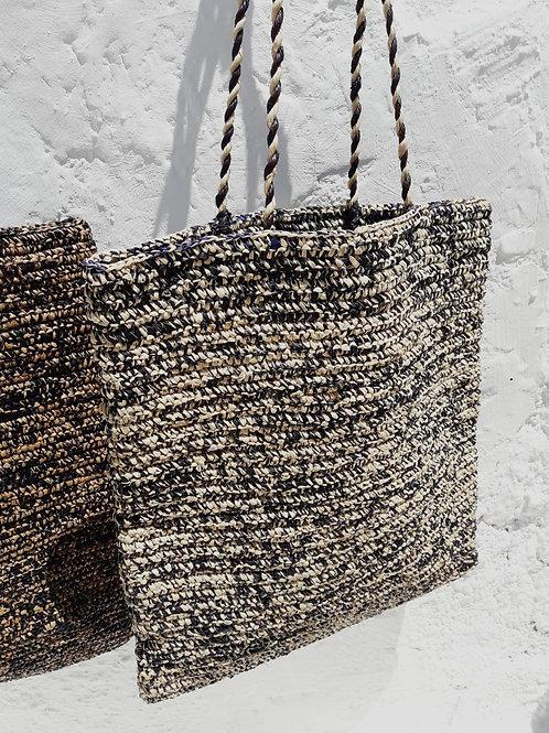 Natural Raffia Shoulder Bag