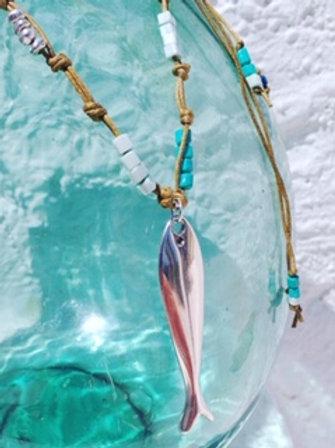 Artisan Fish Necklace