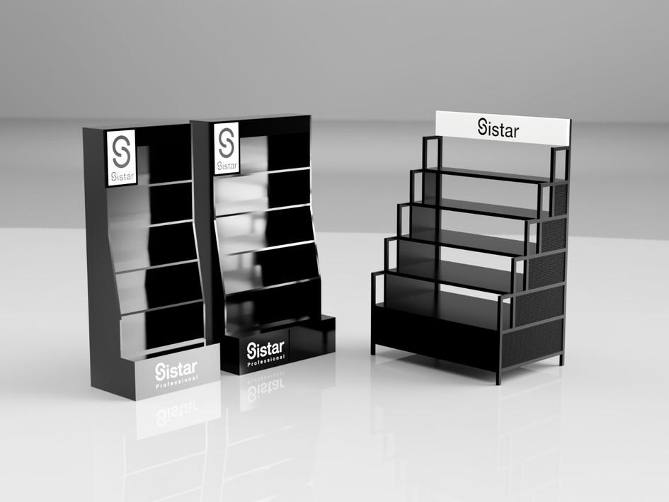Sistar - Black A,B Display Set
