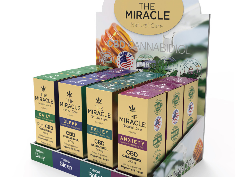 Saplaya - The Miracle Natural Care Pure CBD Oil
