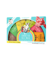 Saplaya - Character Face Mask Special Gift Collection Set
