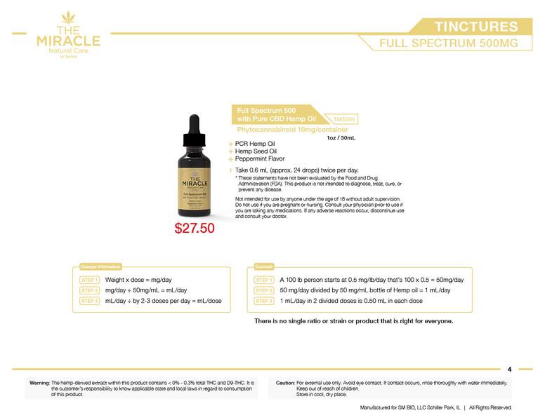 The Miracle Natural Care by Saplaya - Catalog