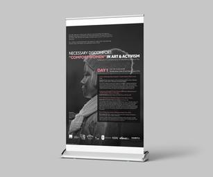 """Necessary Discomfort: """"Comfort Women"""" in Art & Activism Day 1 Banner"""