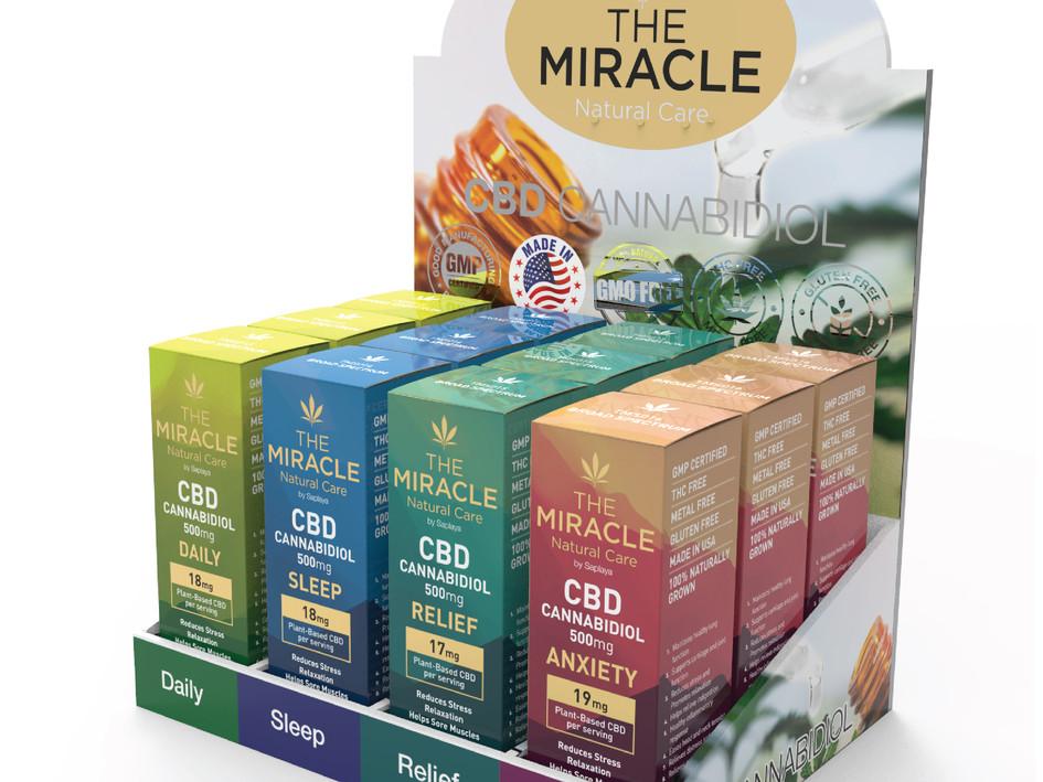 Saplaya - The Miracle Natural Care CBD 500mg Oil