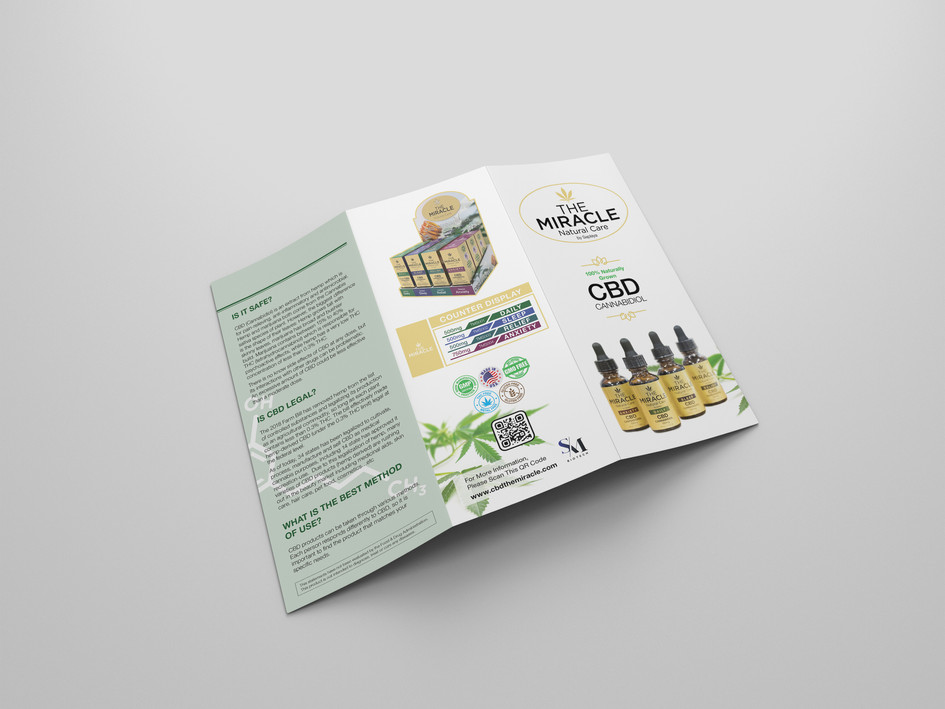 The Miracle Natural Care by Saplaya - Promotional Brochure 1 (Exterior)