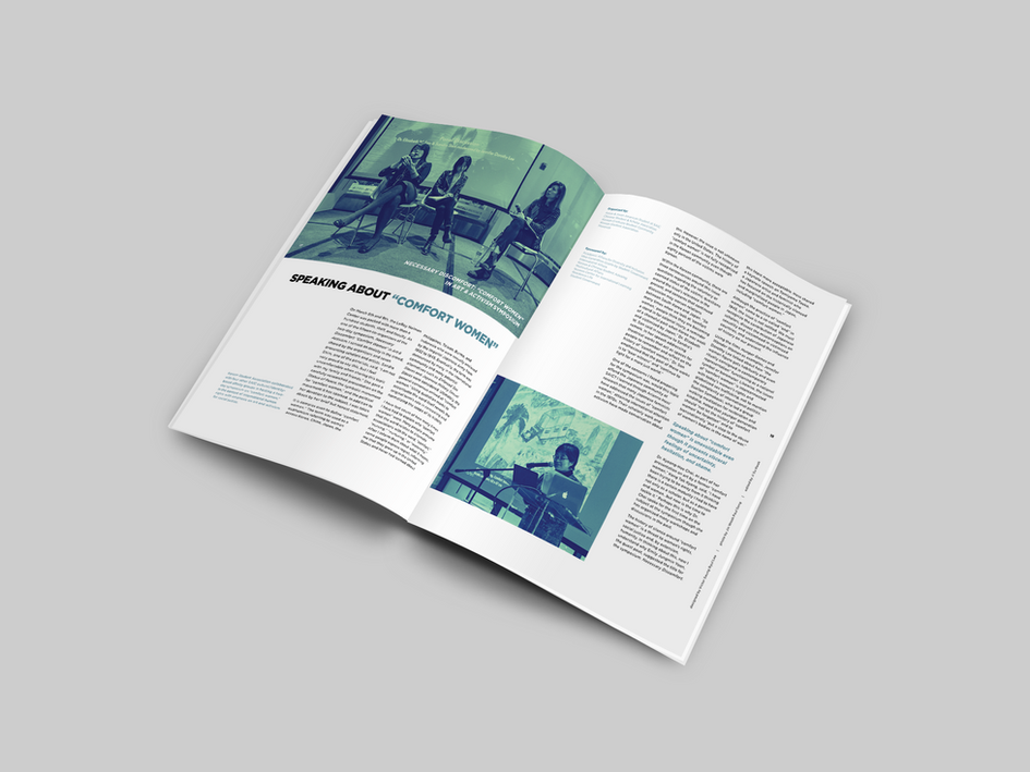 "Dahm So Magazine 2018 - Speaking About ""Comfort Women"""
