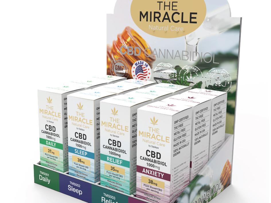 Saplaya - The Miracle Natural Care CBD 1000mg Oil