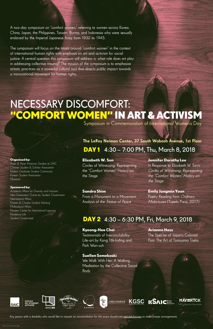 "Necessary Discomfort: ""Comfort Women"" in Art & Activism Poster"