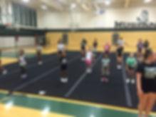 EP Stallions Cheer Image - Practice