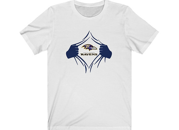 Ravens Ripped Jersey Tee