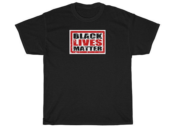 Black Lives Matter (Black & Red) Block Tee