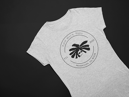 flat-lay-mockup-of-a-t-shirt-over-a-tric